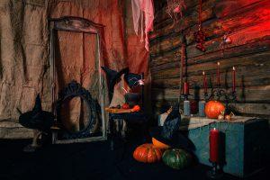 Deko Halloweenparty