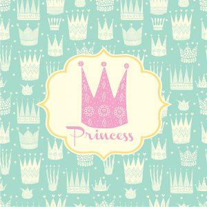 Einladungskarte Motto Prinzessin