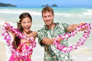 Kleidung Hawaii Party