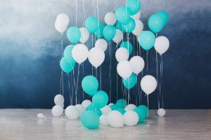 Luftballons-Partydeko