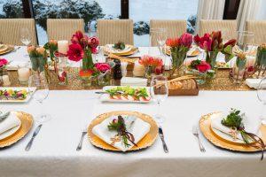 Tischdeko Feier