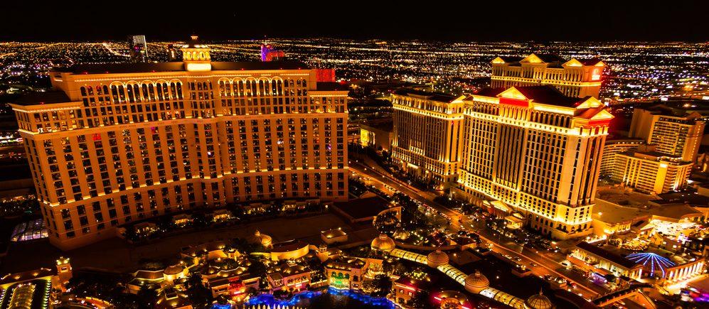 Las Vegas Feier Banner