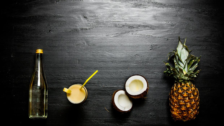 Cocktails mit Sahne