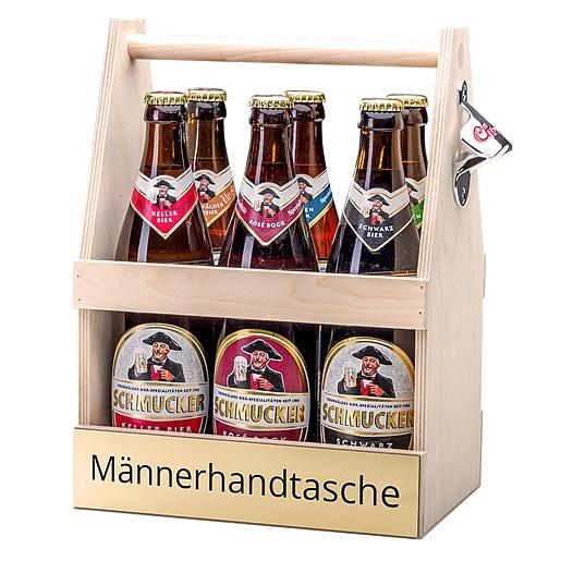 Bierträger Männerhandtasche