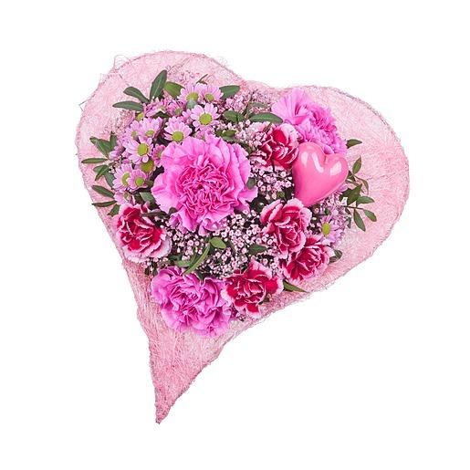 Blumenstrauß Beste Mama & JuwelKerze Sweetheart